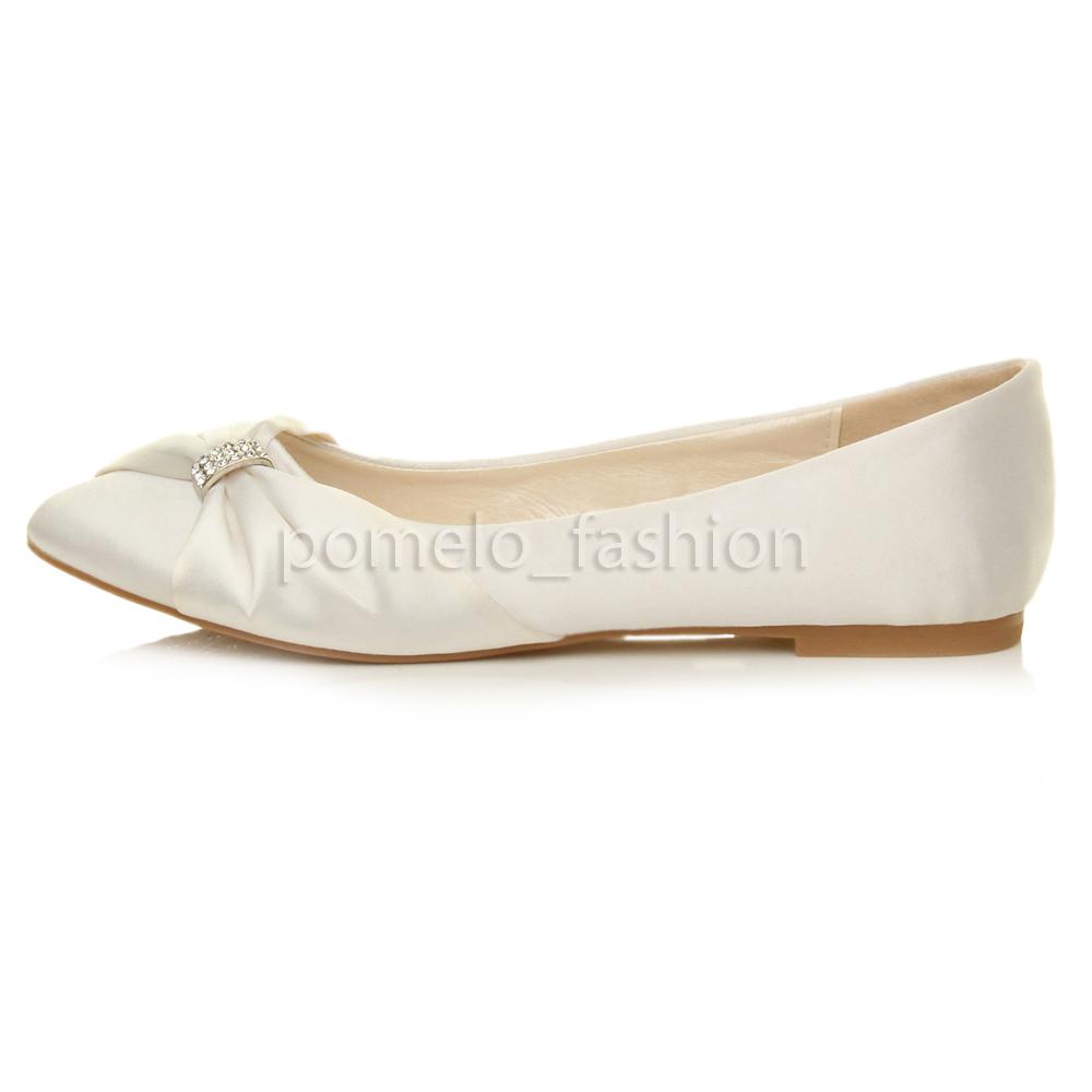 womens flat wedding shoes photo - 1