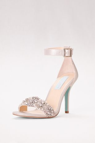 womens gold wedding shoes photo - 1
