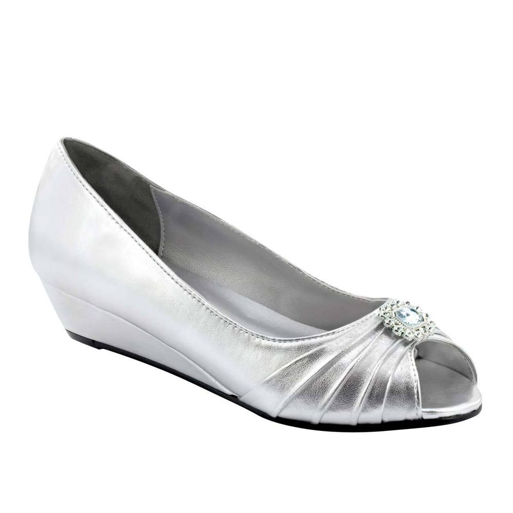 womens wide width wedding shoes photo - 1