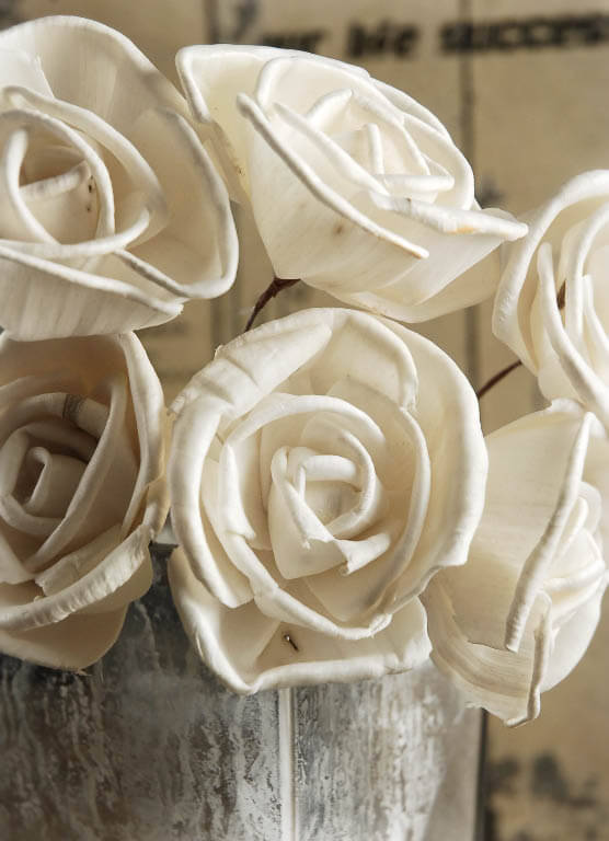 wooden wedding flowers photo - 1