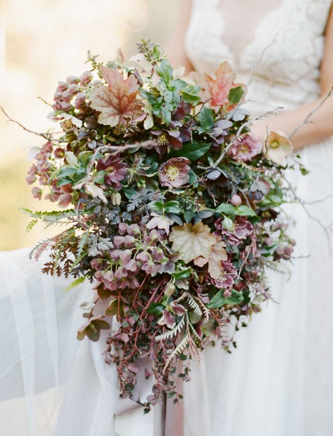 woodsy wedding bouquets photo - 1