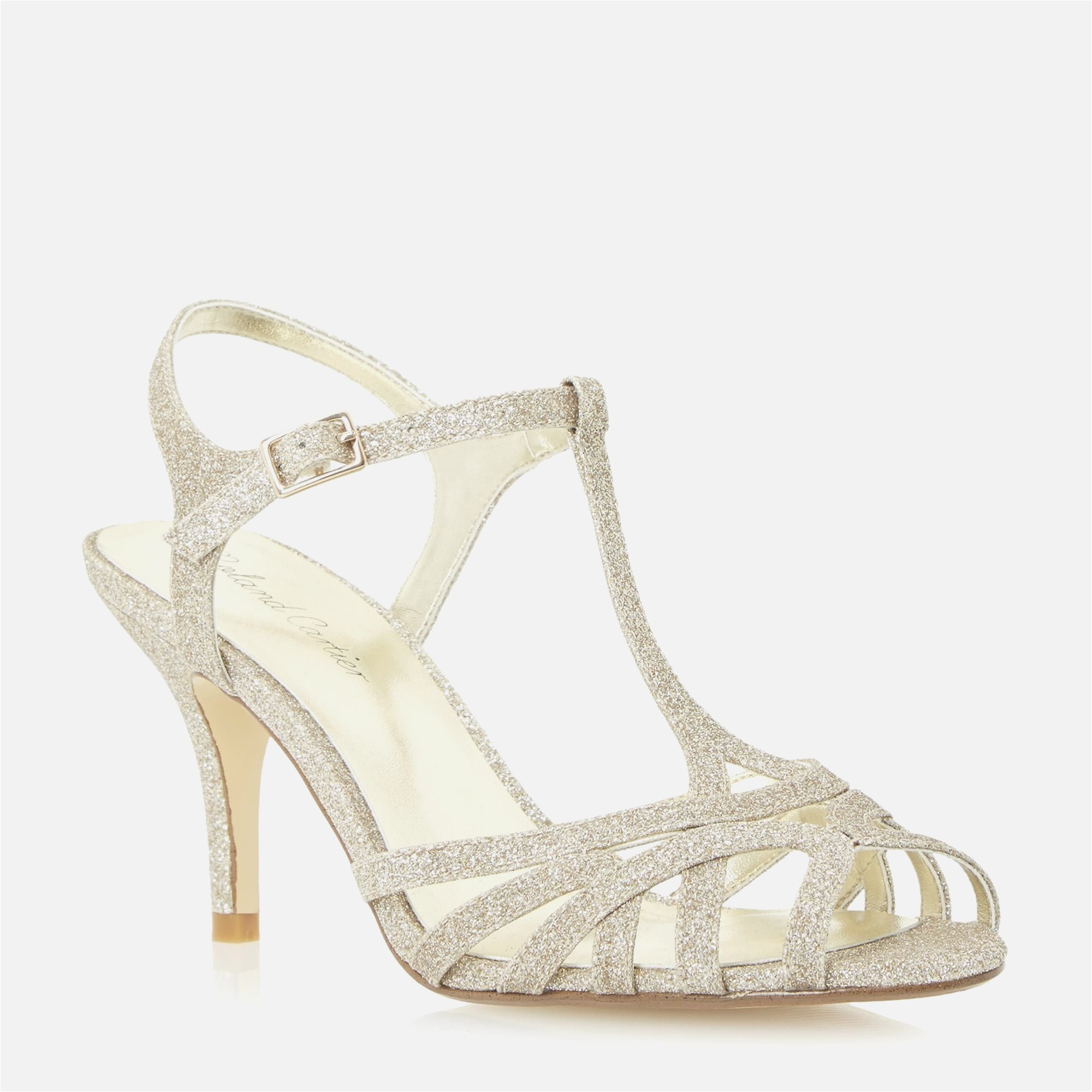 1 inch bridal shoes photo - 1