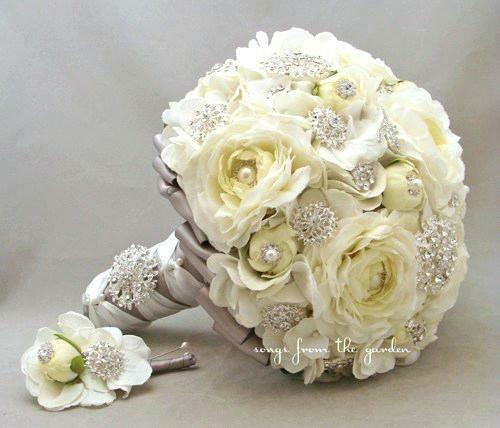 1800 flowers wedding bouquets photo - 1