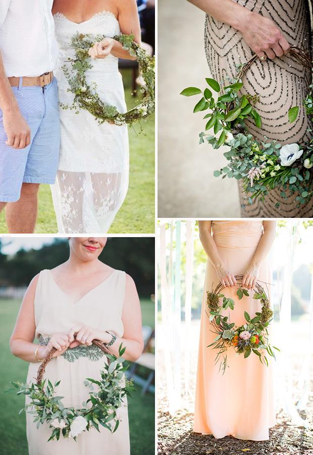 alternatives to wedding bouquets photo - 1