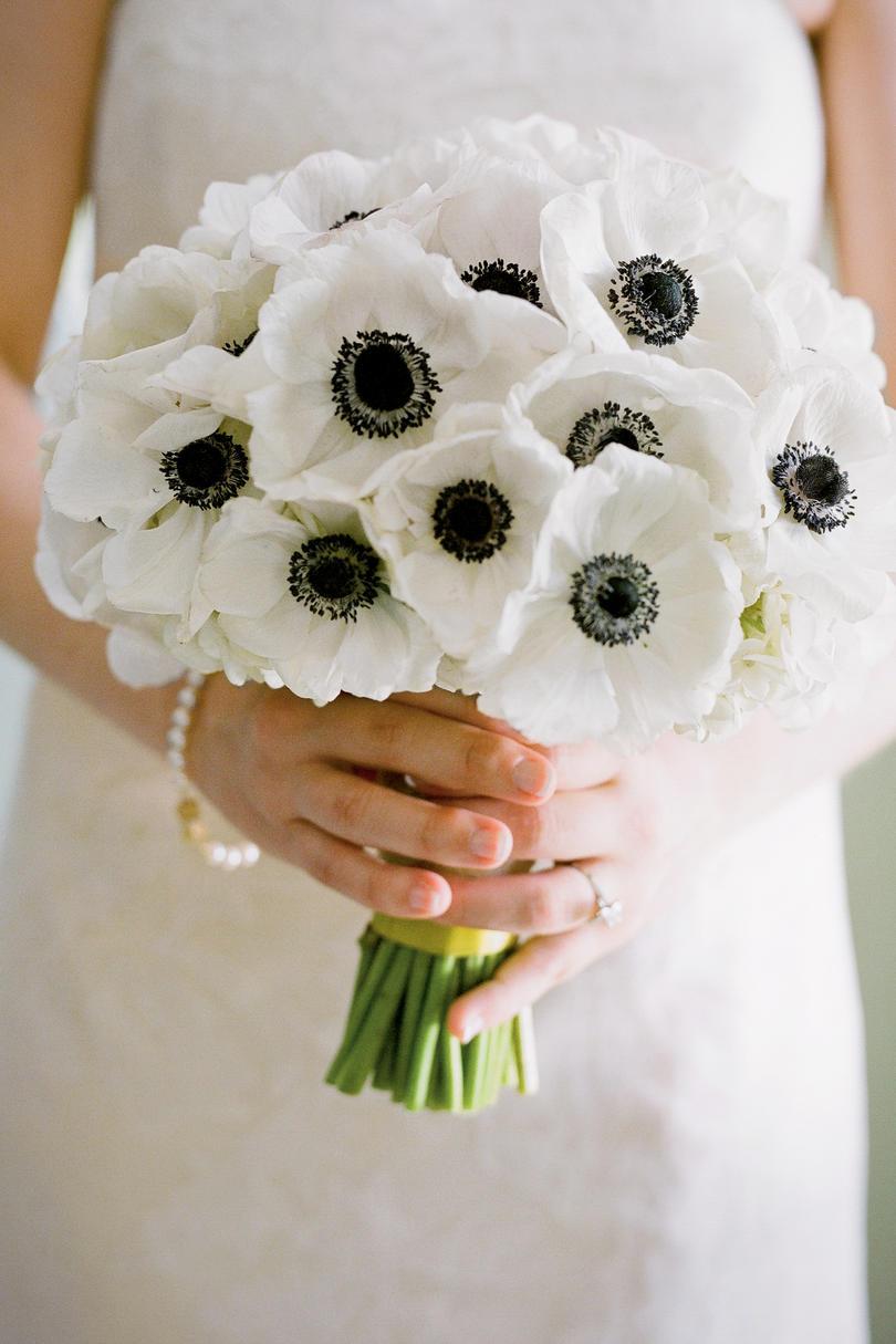 anemone wedding flowers photo - 1