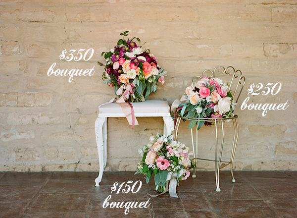 average cost of bridal bouquets photo - 1