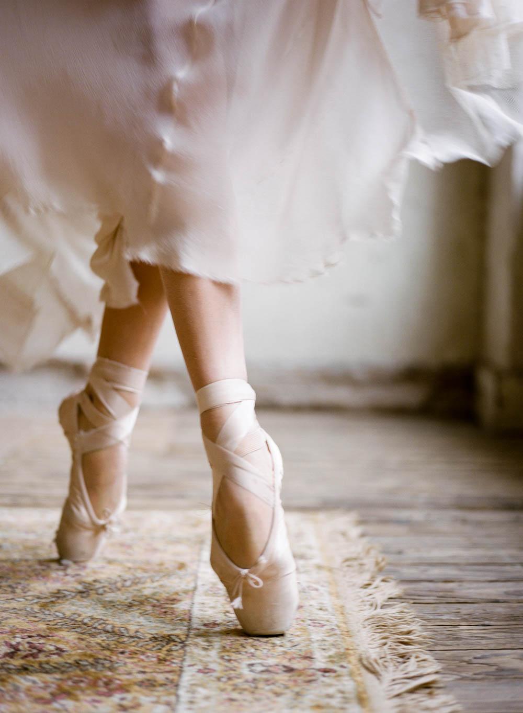 ballerina wedding shoes photo - 1