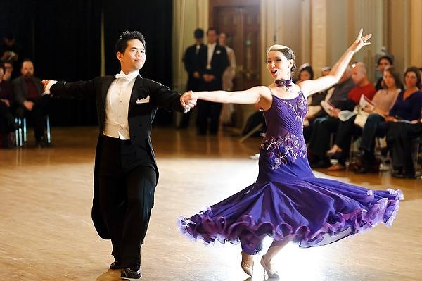 ballroom dancing shoes for wedding photo - 1