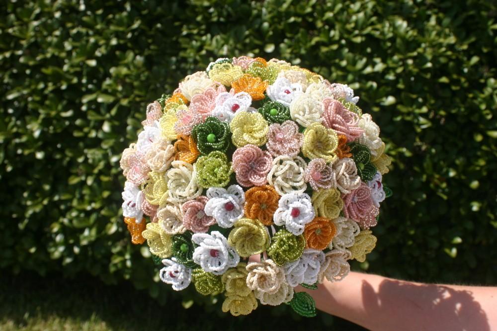 beaded wedding bouquets photo - 1