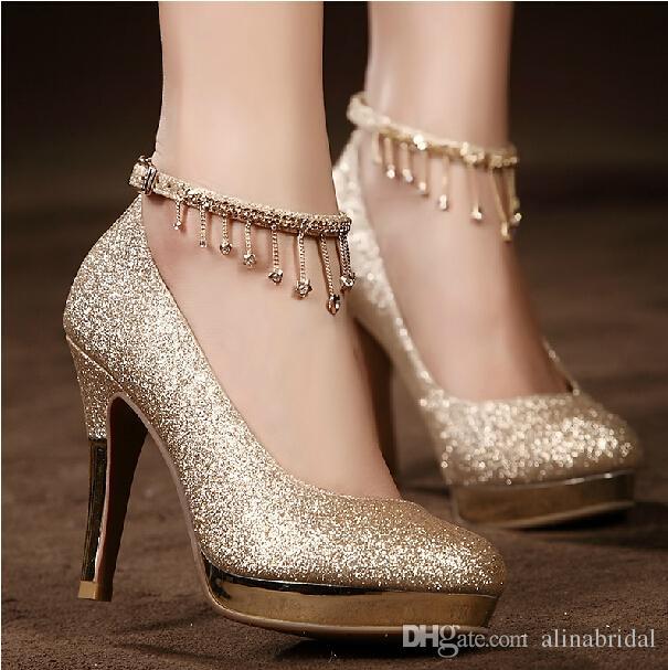 beautiful flat wedding shoes photo - 1