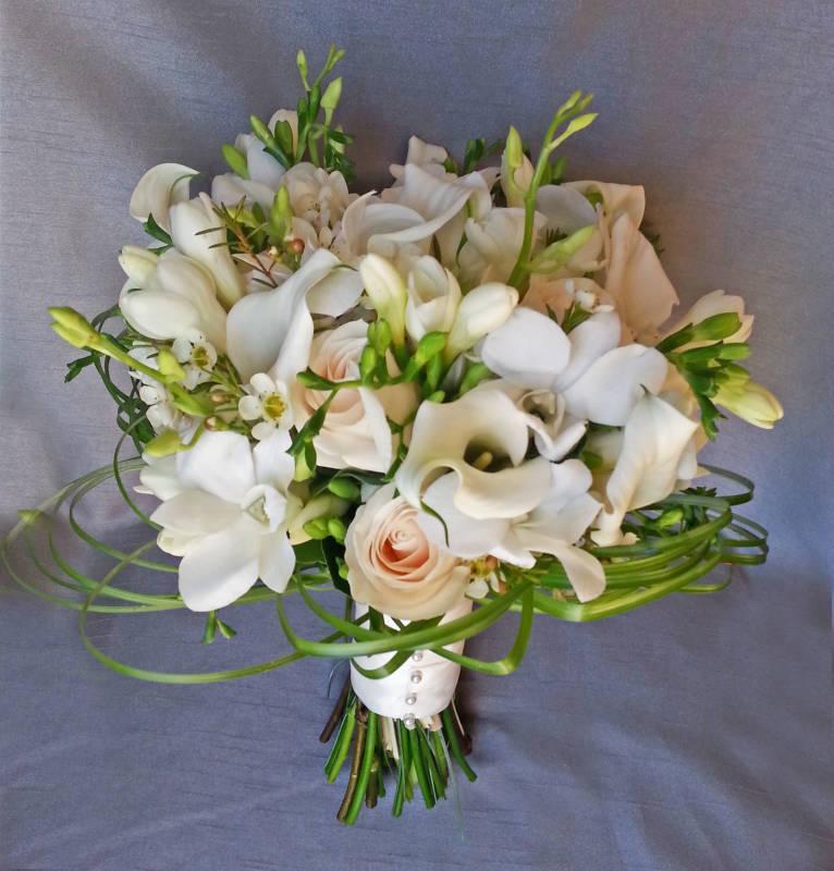 beautiful silk wedding bouquets photo - 1