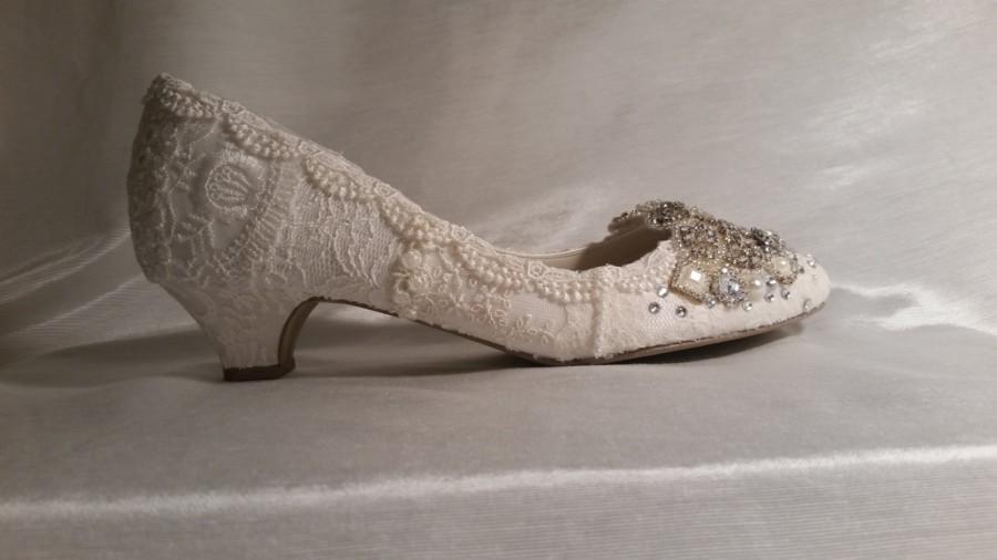 betsey johnson blue bridal shoes photo - 1