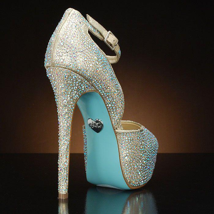 betsey johnson ivory wedding shoes photo - 1