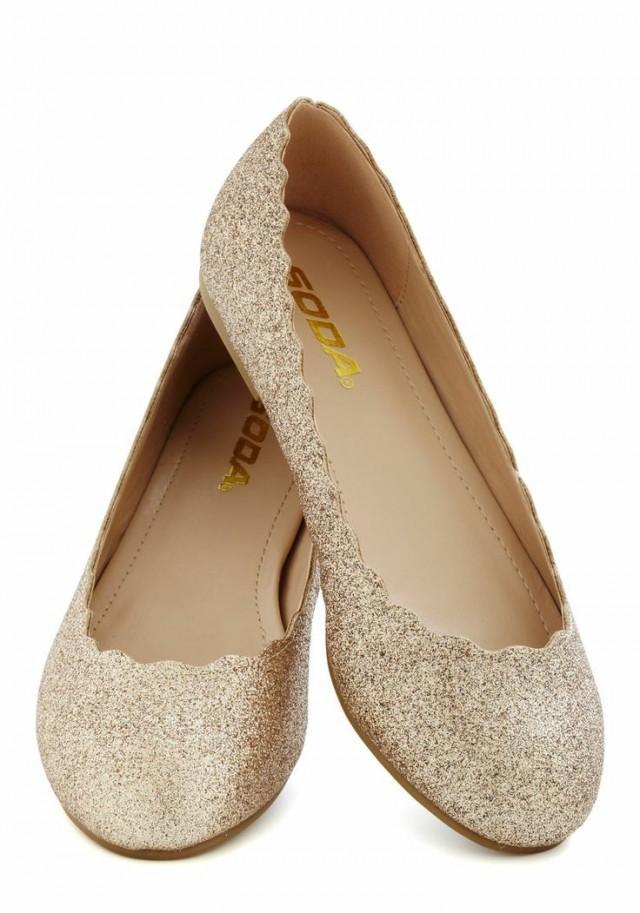 betsey johnson wedding shoes flats photo - 1