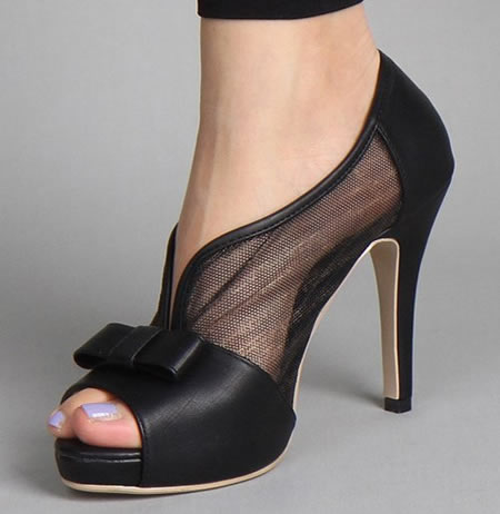 black wedding shoes womens photo - 1