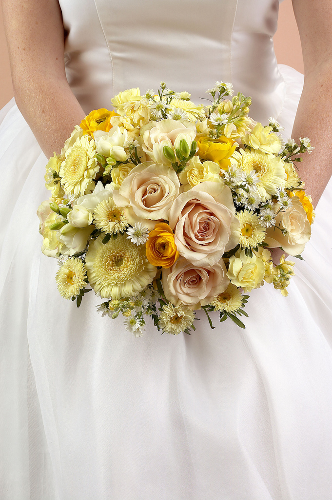 bouquet for wedding photo - 1