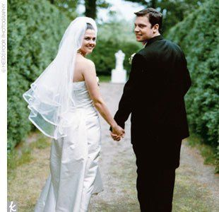 brandon flowers wedding photo - 1