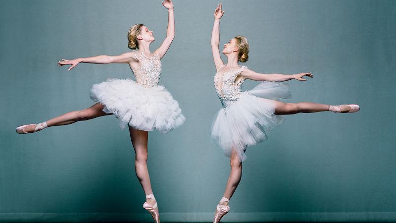 bridal ballet shoes photo - 1
