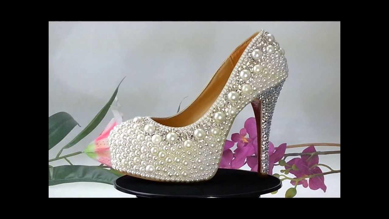 bridal shoes pumps photo - 1