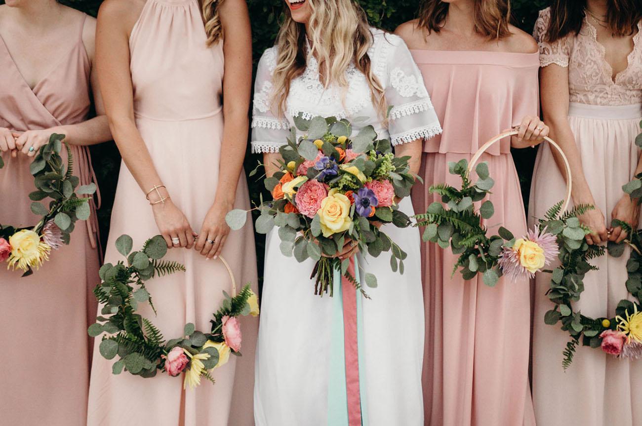 bridesmaid wedding shoes photo - 1