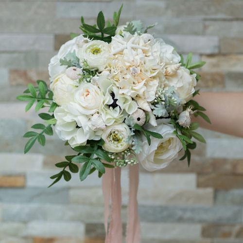 bulk silk wedding flowers photo - 1