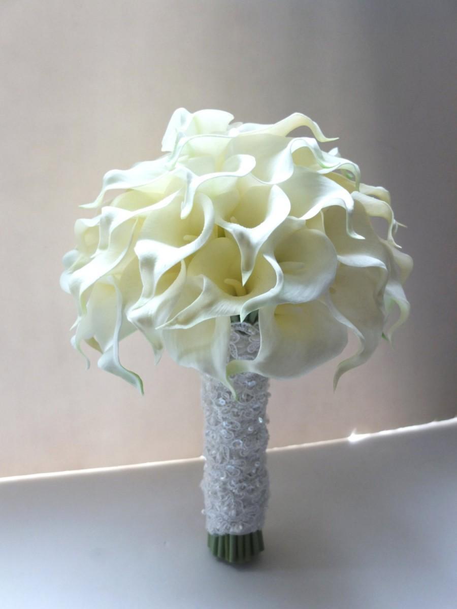 callas wedding bouquets photo - 1