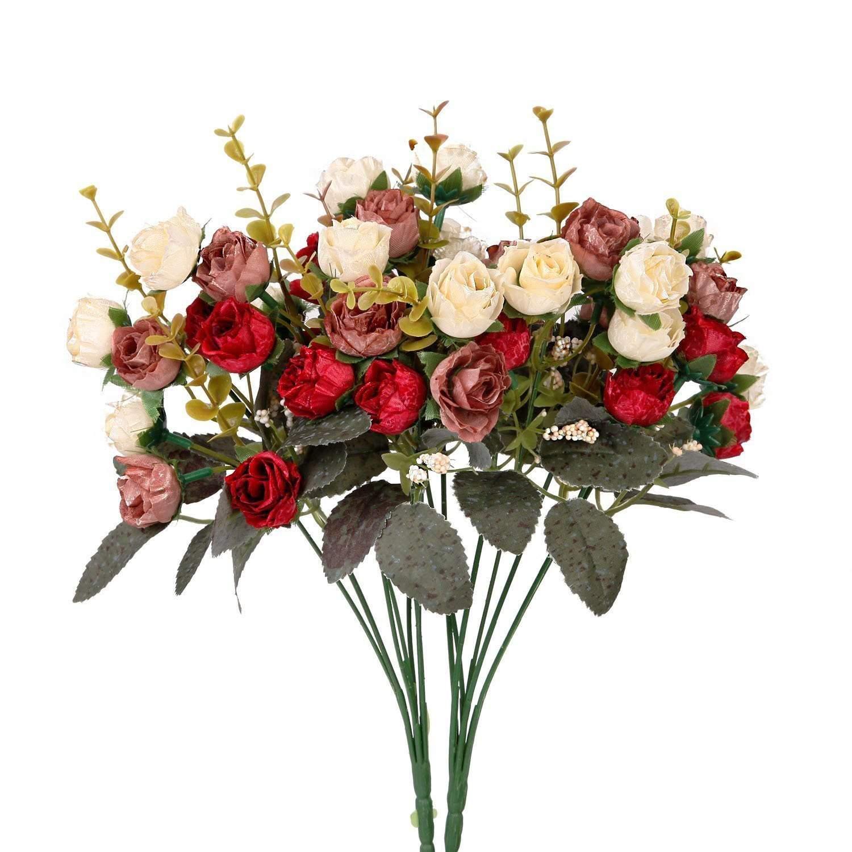 cheap artificial wedding bouquets photo - 1