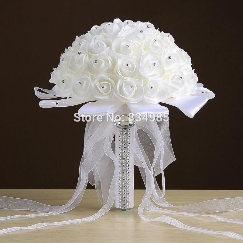 cheap bouquet for wedding photo - 1