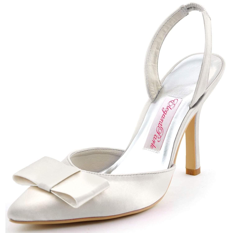 cheap flat wedding shoes photo - 1