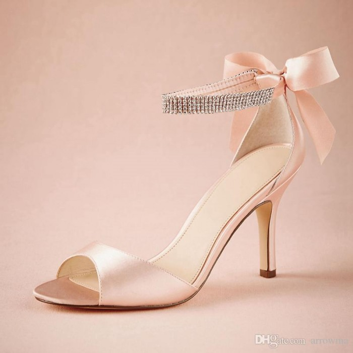 cheap gold shoes for wedding photo - 1