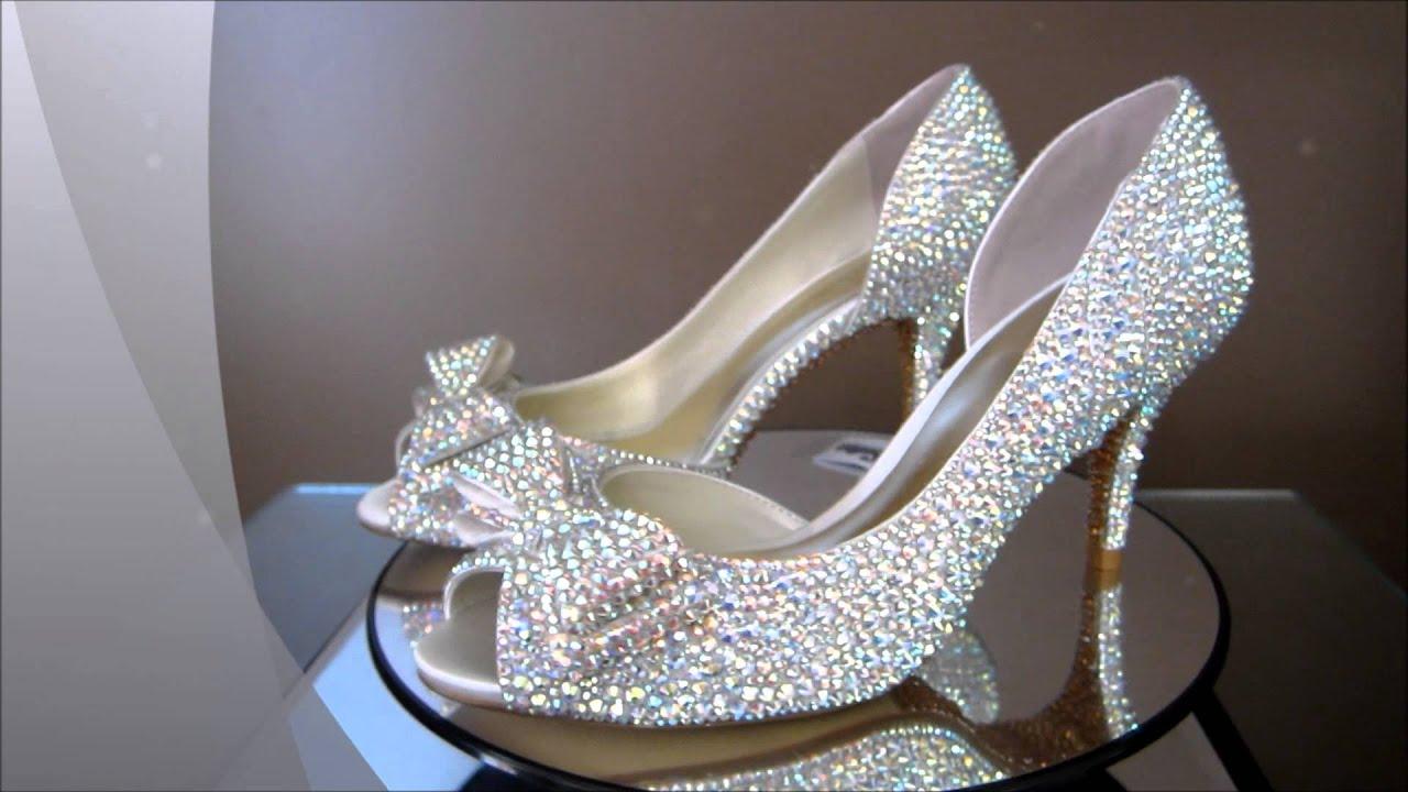 cinderella bridal shoes photo - 1
