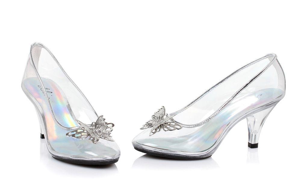 cinderella wedding shoes glass photo - 1