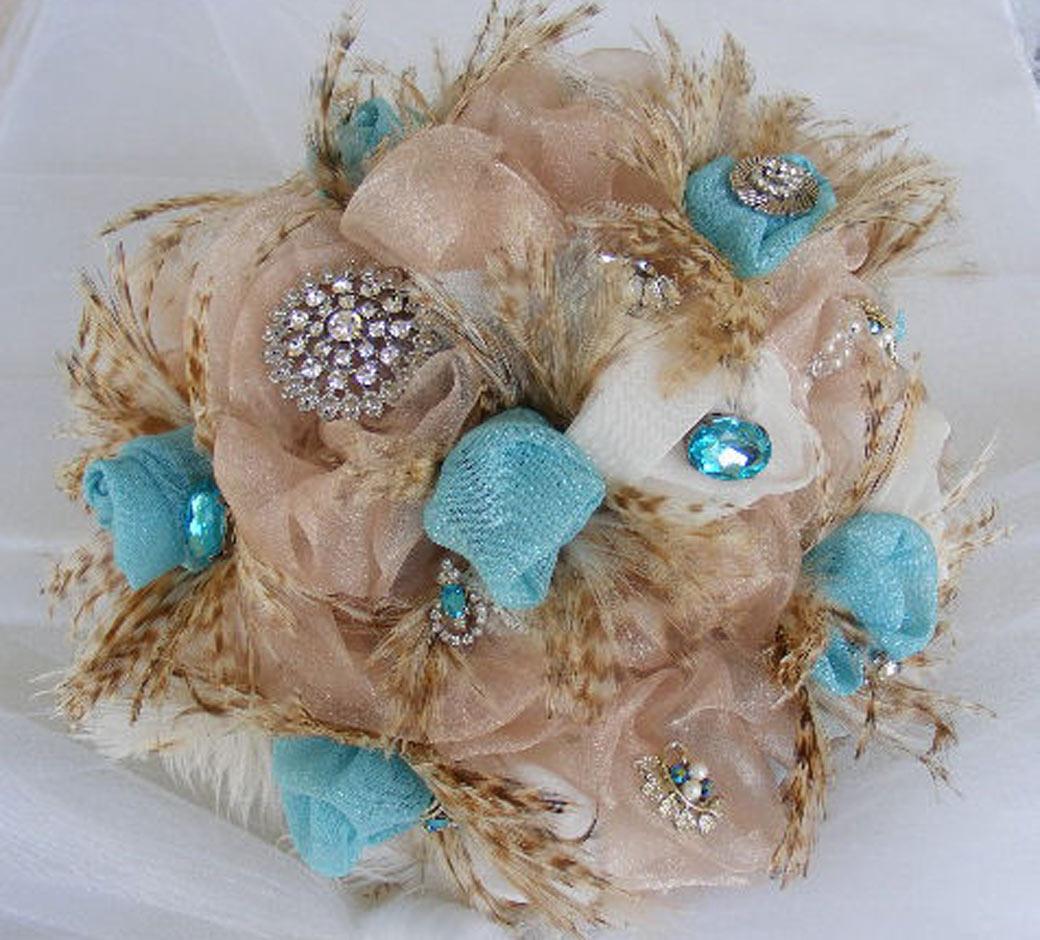 creative wedding bouquets photo - 1