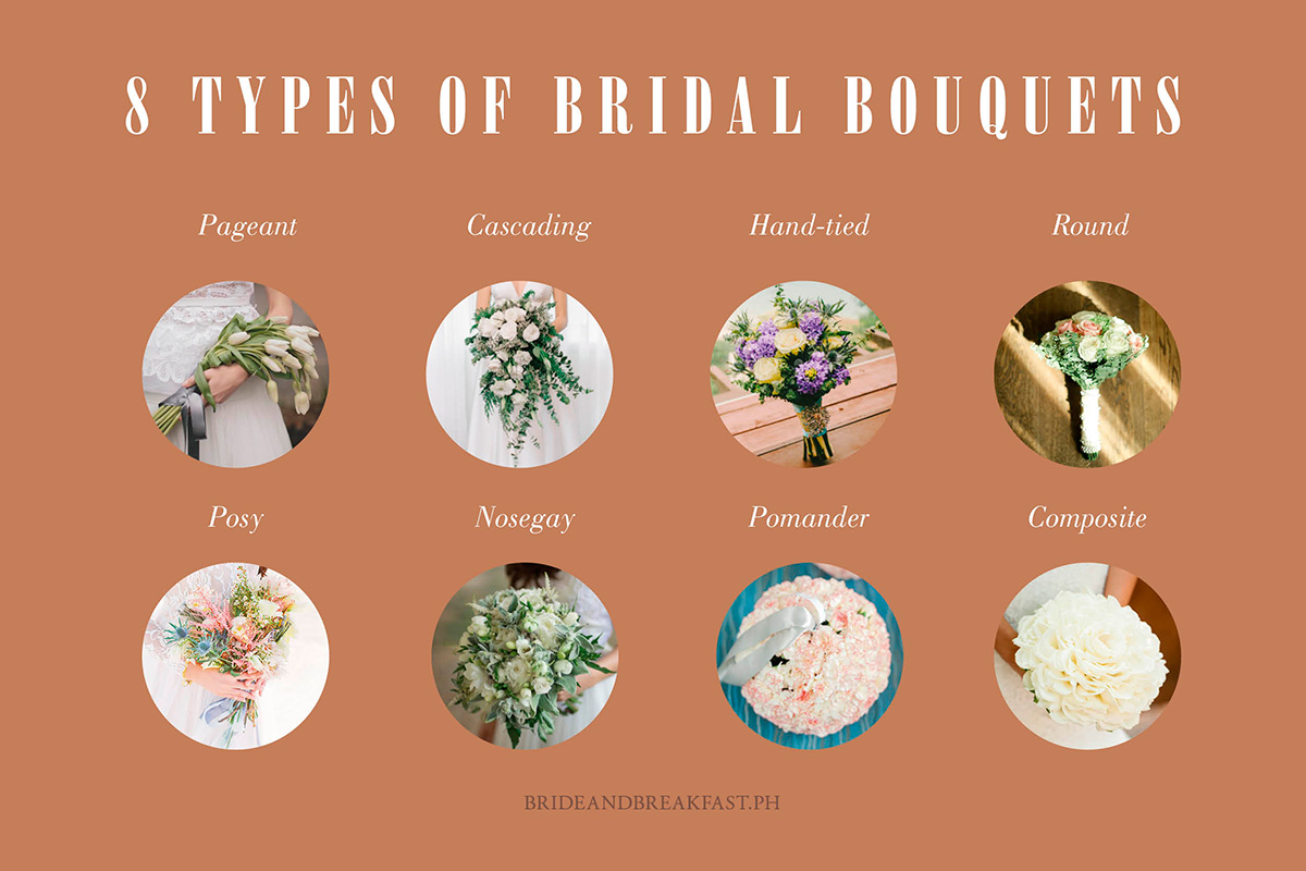 different types of wedding bouquets photo - 1