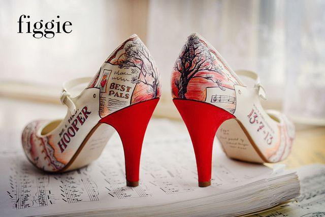 diy bridal shoes photo - 1