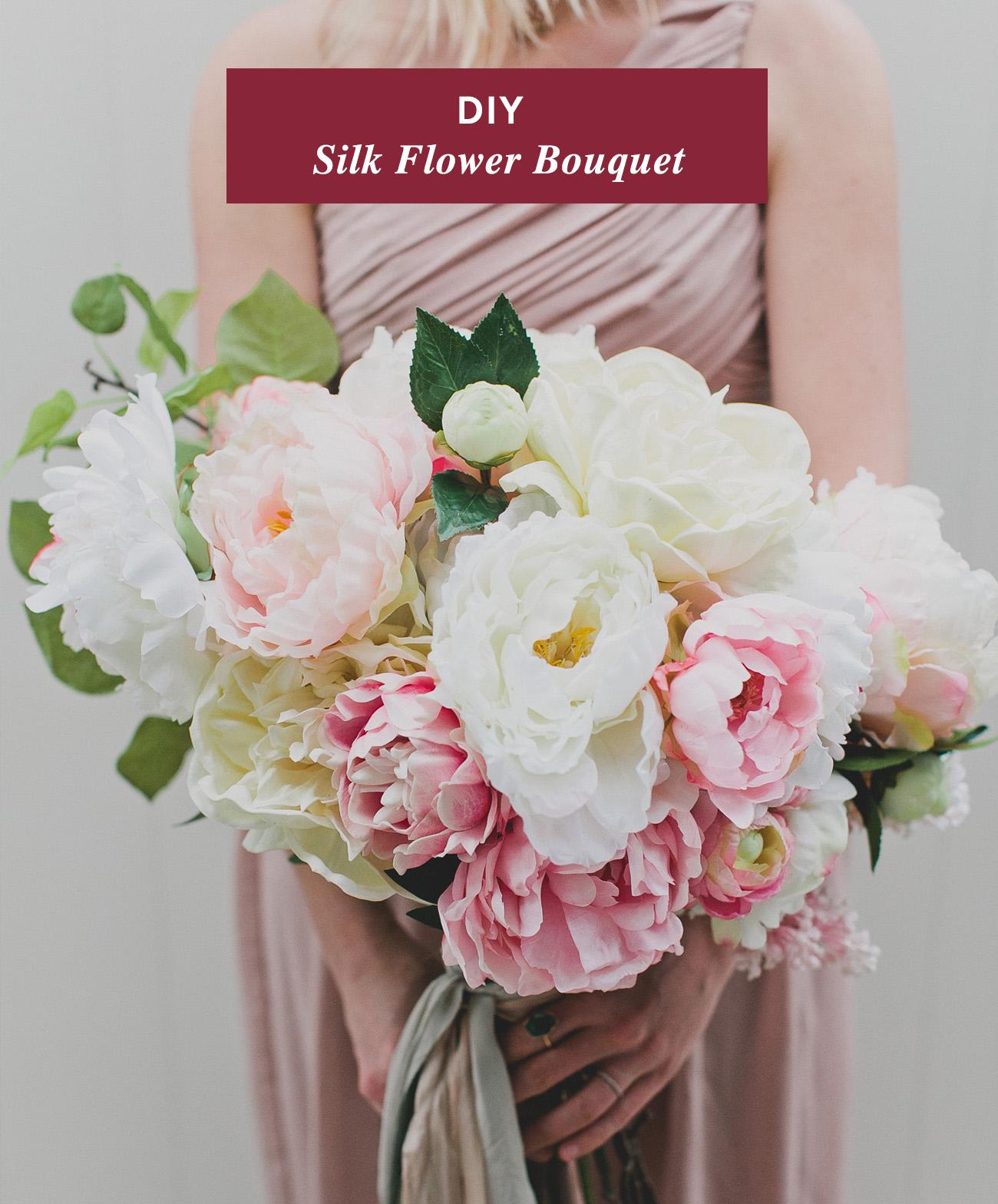 diy wedding bouquet photo - 1