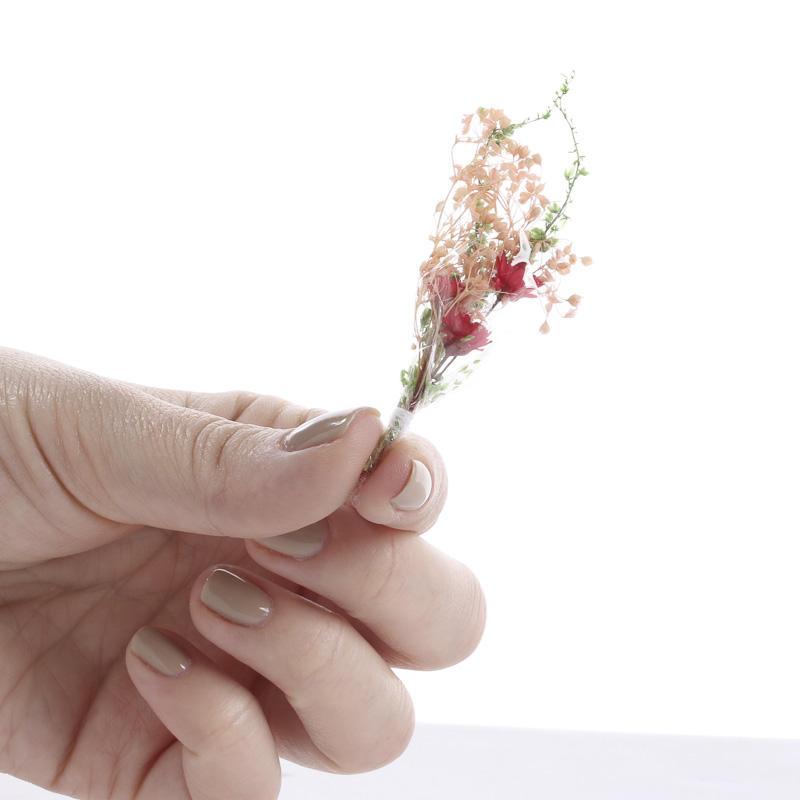 dried flower wedding bouquet photo - 1