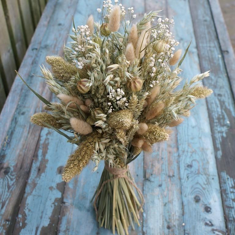 dried wedding bouquets photo - 1