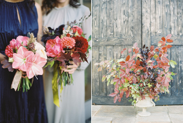 fall wedding bouquets photo - 1