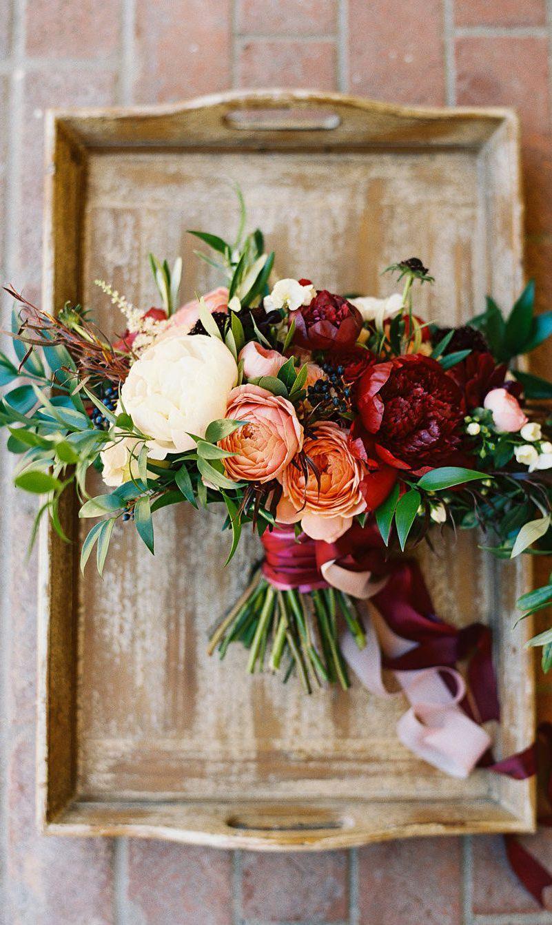 fall wedding flowers arrangements photo - 1