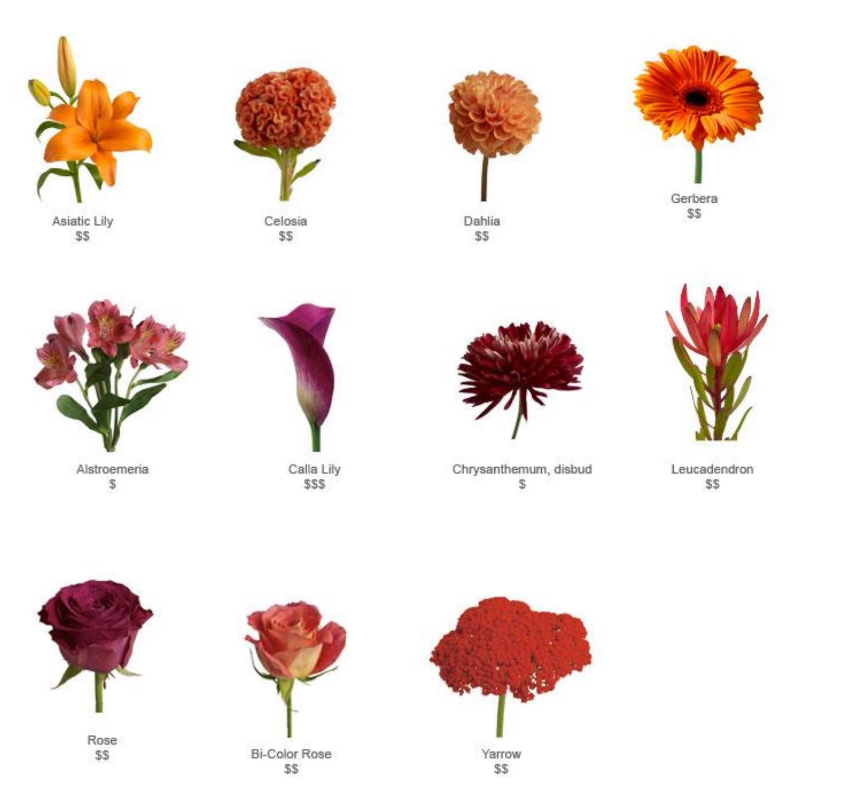 fall wedding flowers in season - florida-photo-magazine