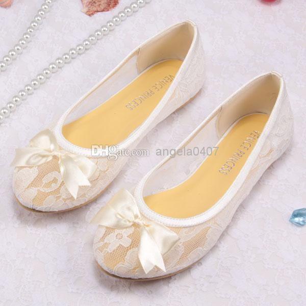 flat wedding shoes photo - 1