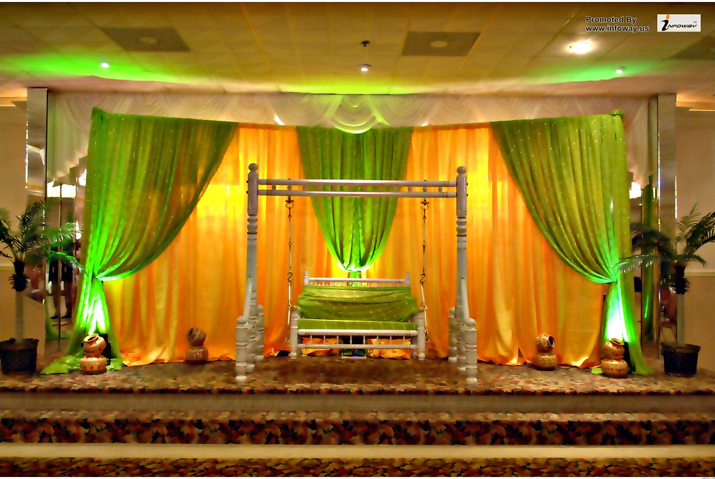 flower decoration for wedding reception photo - 1