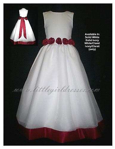 flower girl wedding dresses photo - 1