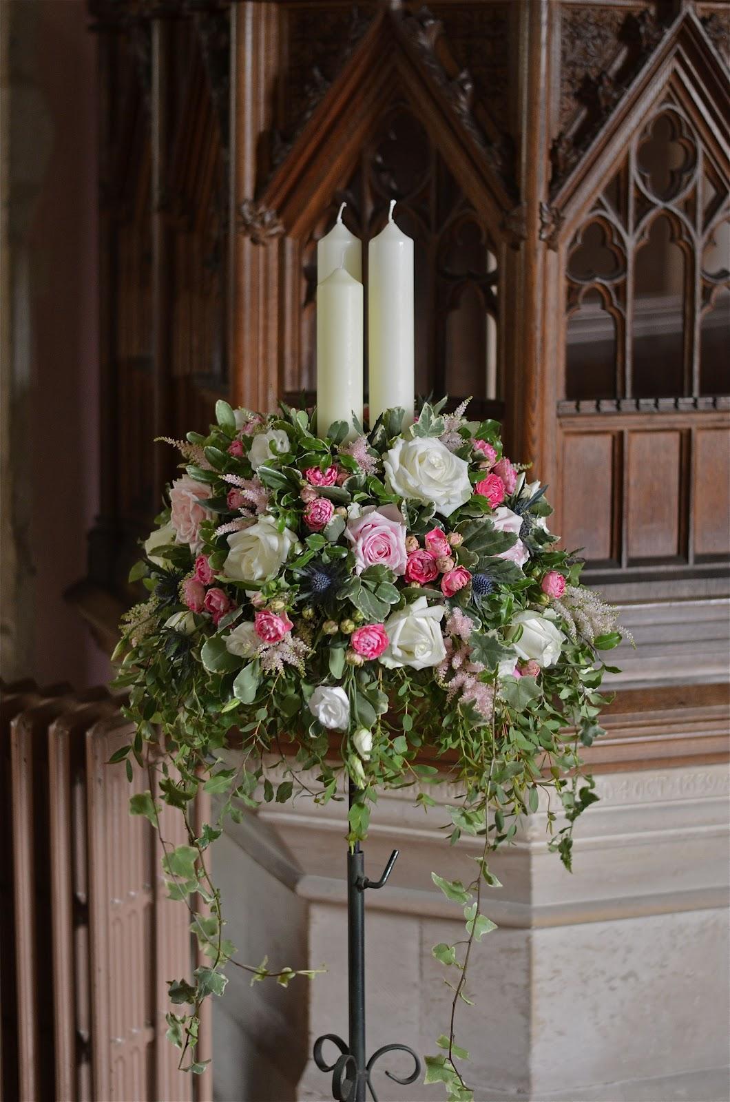 flowers for church wedding photo - 1