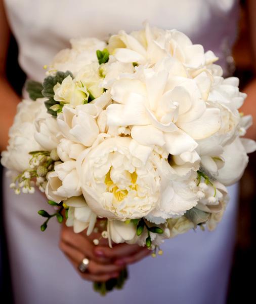 gardenia wedding bouquets photo - 1