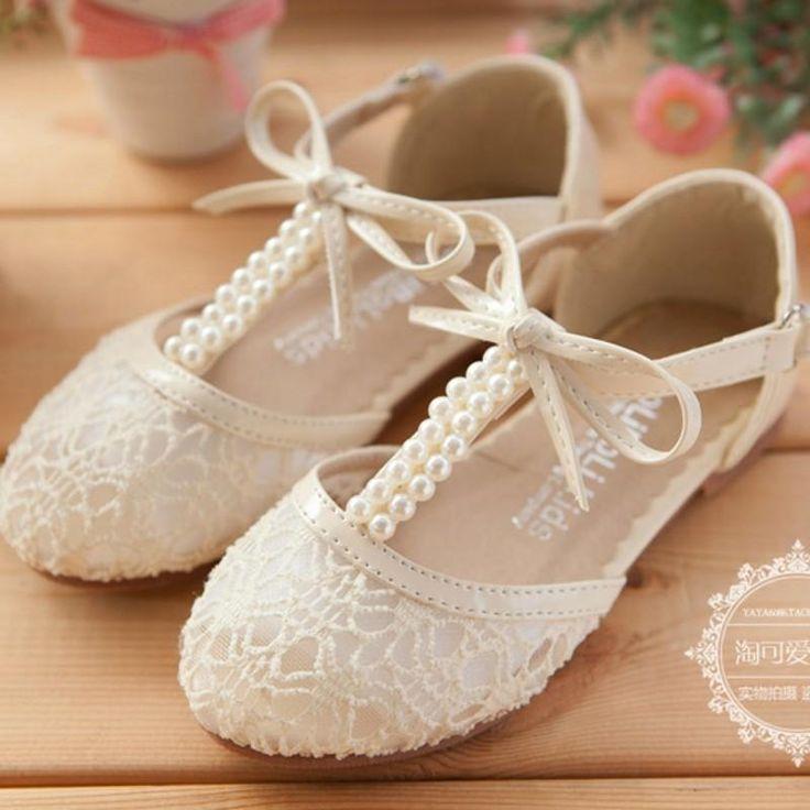 girls wedding shoes photo - 1