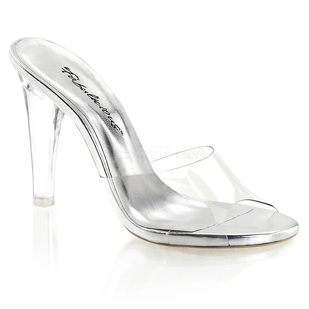 glass slippers wedding shoes photo - 1