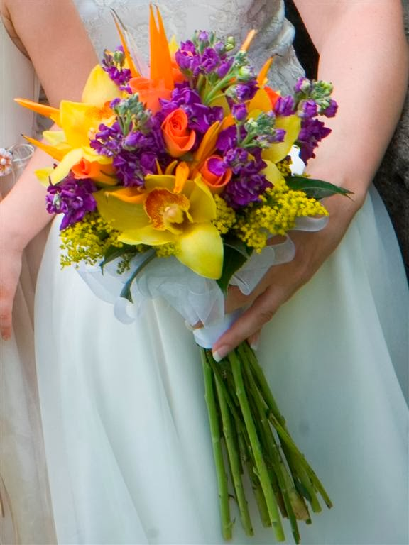 hawaiian wedding bouquets ideas photo - 1