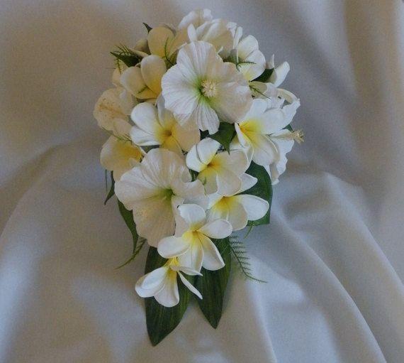 hibiscus wedding bouquets photo - 1